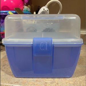 Blue caboodles box